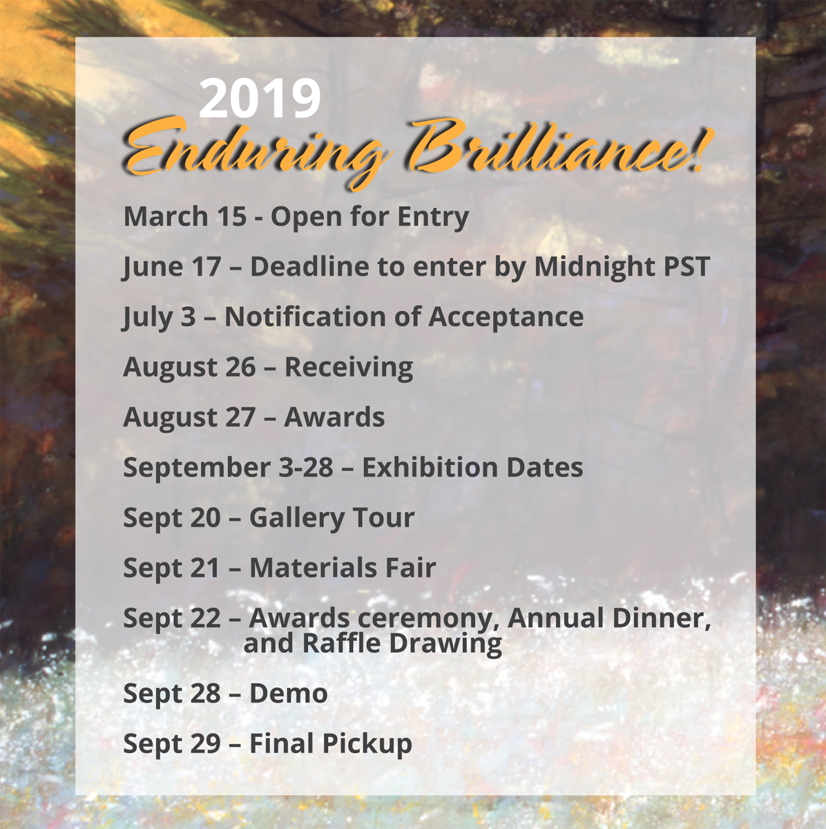 PSA Call for Entries